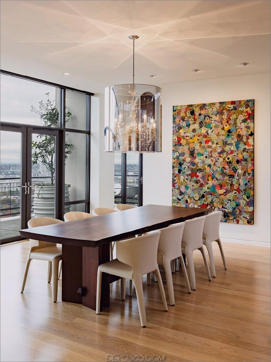 Nob Hill Penthouse Esszimmer von Maven Interiors