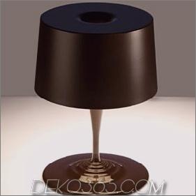 Moderne Tischlampe von Nemo (Cassina) - neue Schokoladenlampe zu Weihnachten!