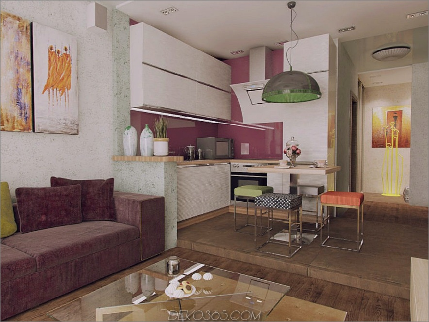 28 qm große Wohnung