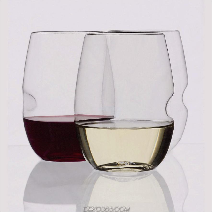 GIovino Stammlose Bruchsichere Weingläser