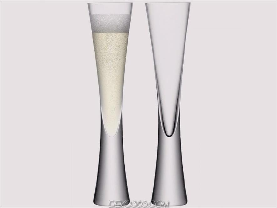 Champagnerflöten aus Moya