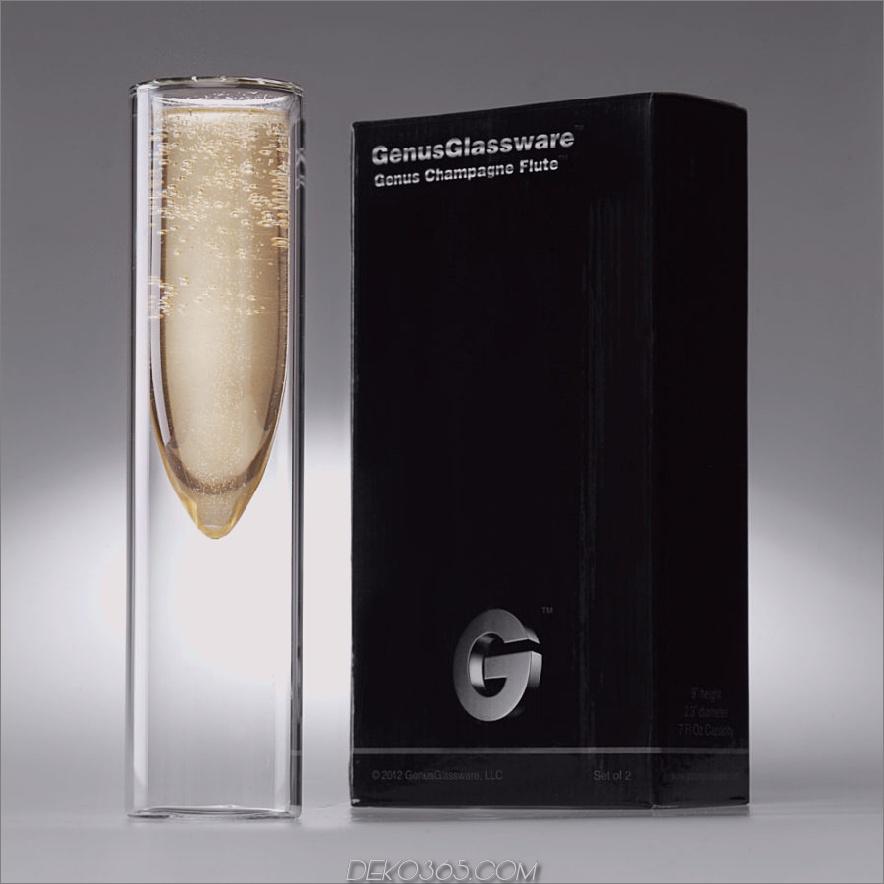 Gattung Champagnerflöte