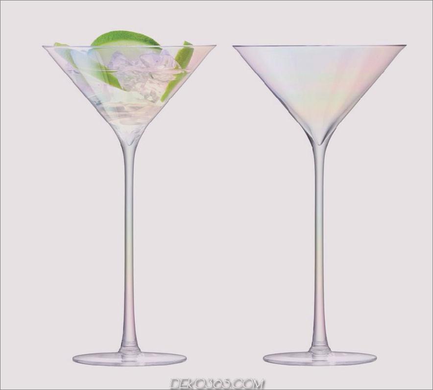 Perlmutt-Cocktailgläser