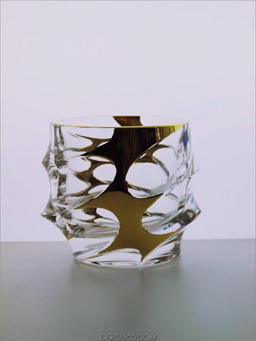 Modernes tschechisches Whiskyglas