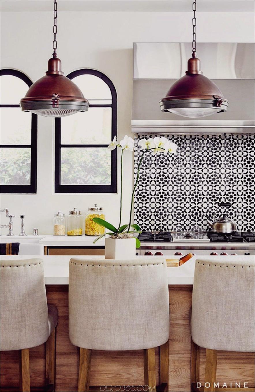 Toskanischer Stil im spanischen Haus