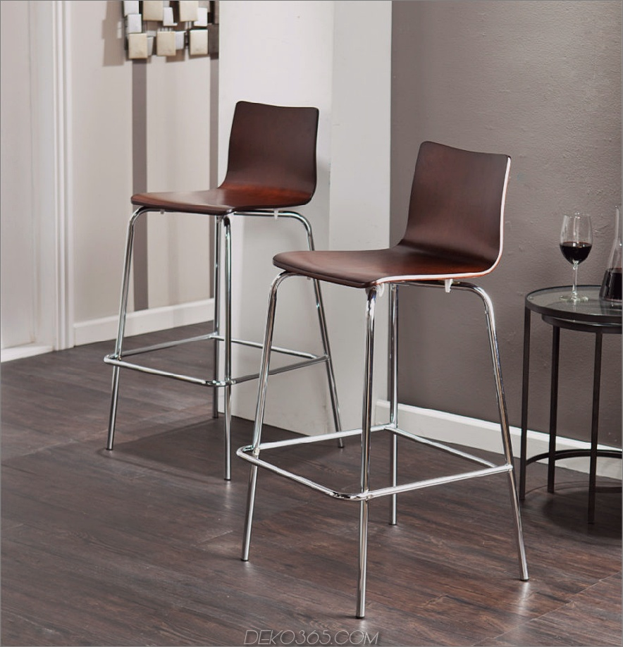 Blence Barhocker in Espresso 900x935 30 Küchenstühle mit modernem Flair
