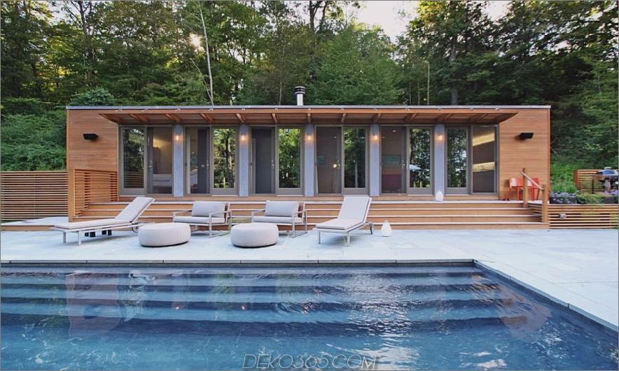 Moderner Schönheitshaus-Pool