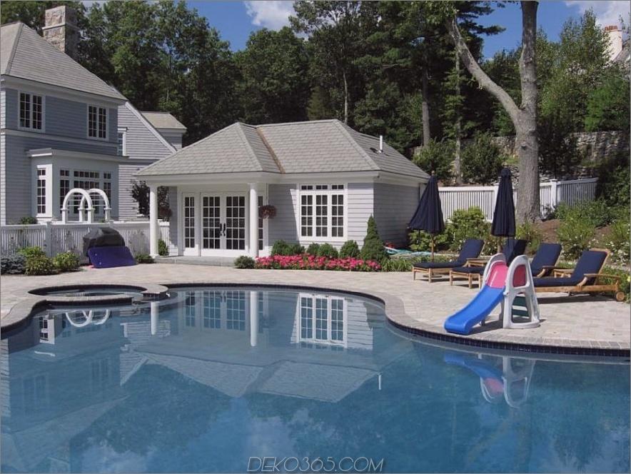 Pool näher am Haus, wenn Sie nicht genug Land haben