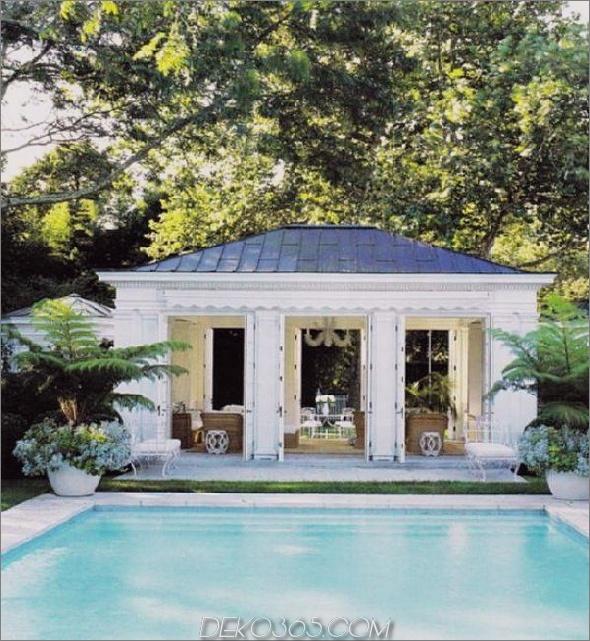 Land französisches Haus mit Pool