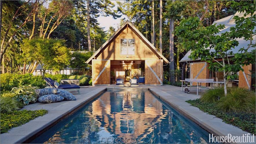 Scheunenhaus mit Pool
