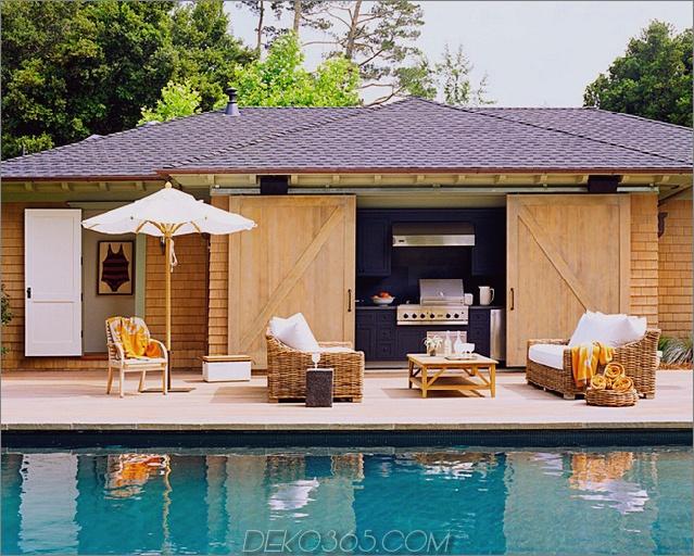 Einzigartiges Haus im Scheunenstil mit Pool
