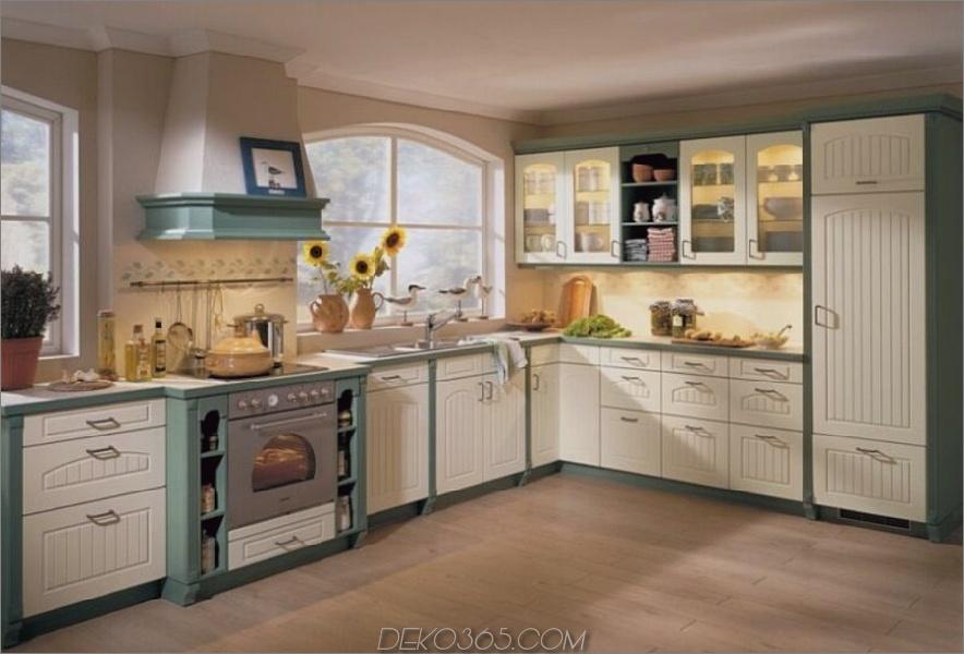 Zwei-Ton-Küchenschränke-grau-weiß
