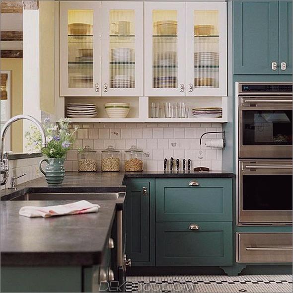 19-zweifarbige-Küchenschränke