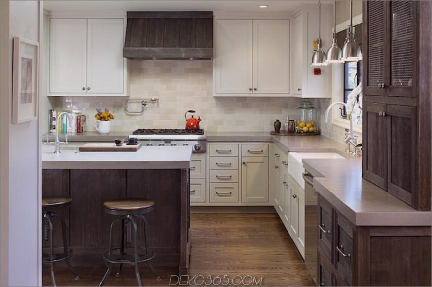 Zweifarbige-Küchenschränke-modern