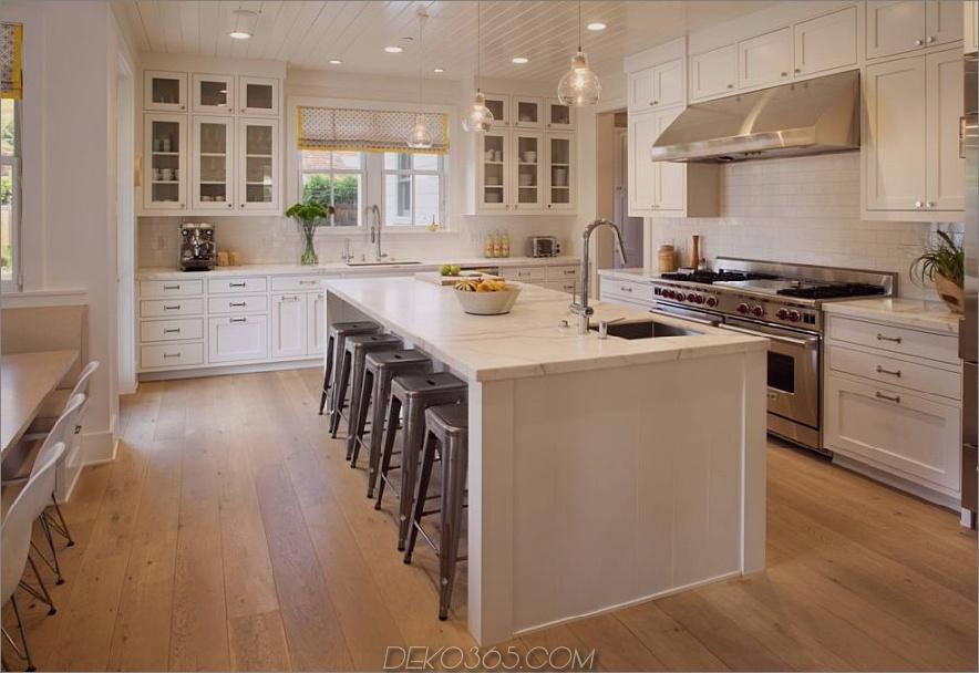 Wunderschönes, cremiges Küchendesign 900x618 36 Moderne Bauernhaus-Küchen, die zwei Stile perfekt miteinander verbinden