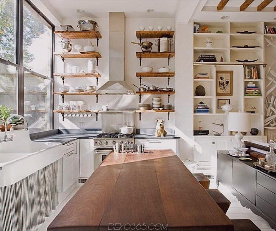 Offenes Design im Landhausstil