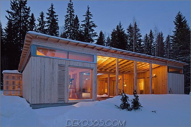 4-Jahreszeiten-Holzhütte, gebaut von einem Schreiner 2 Vorderwinkel Nachtdaumen 630x419 24255 4-Jahreszeiten-Holzhütte, gebaut von einem einzigen Schreiner