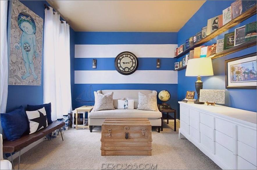 Akzentfarben in Königsblau und Weiß 900x595 40 Akzentfarbkombinationen, damit sich Ihre Wohnkultur-Räder drehen