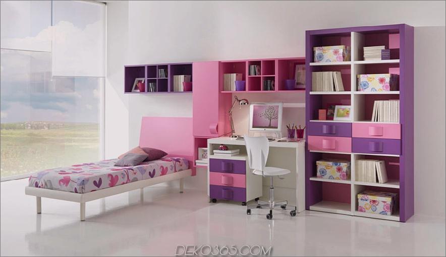 rosa und lila Zimmer