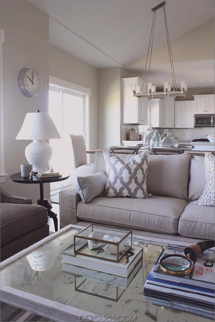 weißes und silbernes Zimmer