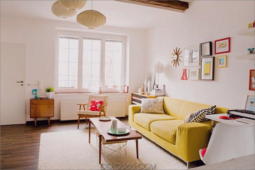 schön-einfach-modern-wohnzimmer-design-ideen-gelb-modern-sofa-braun-laminiert-holztisch-weiß-wand-braun-laminiert-holz-boden-braun-laminiert-holz-schrank-weiß- Wand-Weiß-Teppich-Glas-Windo