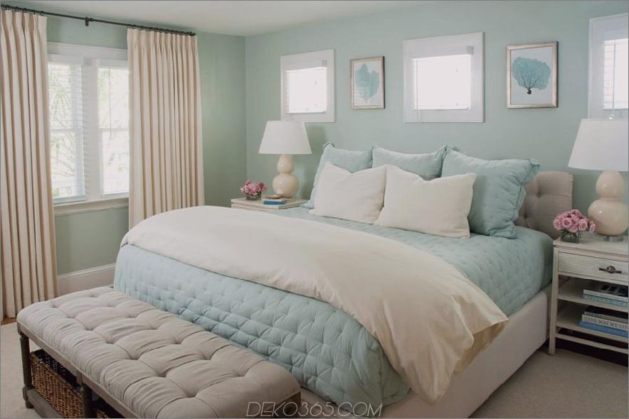 Seafoam Green und Cream Room
