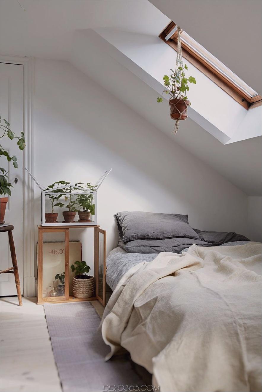 minimalistisches Schlafzimmer mit Pflanzen gefüllt 900x1350 40 einfache und schicke minimalistische Schlafzimmer