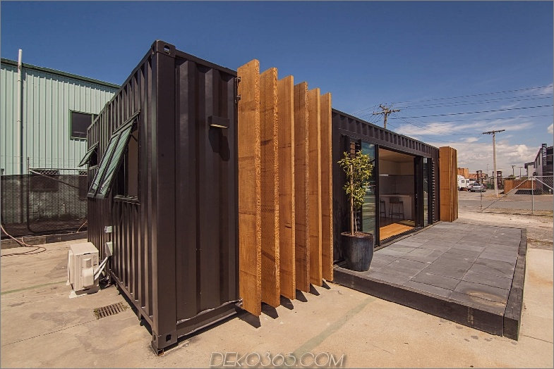 Container-Wochenendhaus