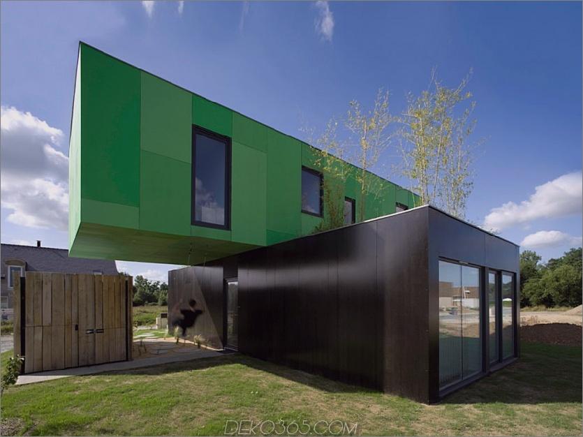 Crossbox House von CG Architectes