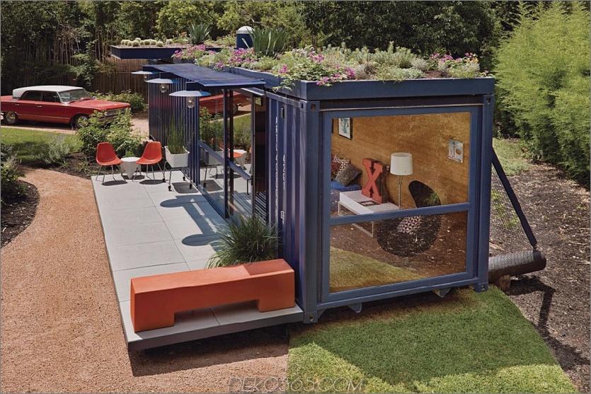 Versandbehälter Guest House von Jim Poteet