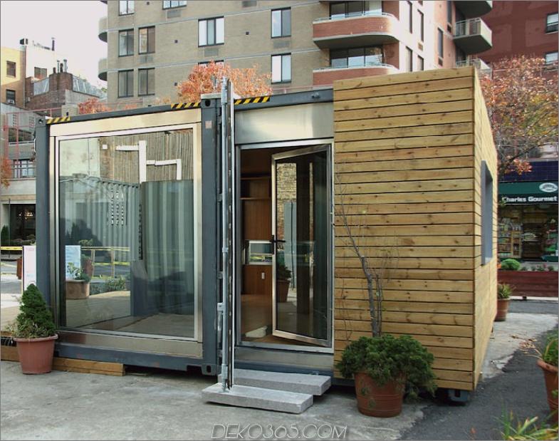 Kleines Containerhaus