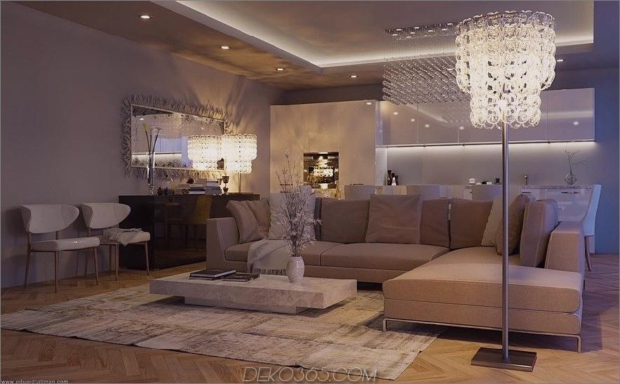 Zeitgenössisches Wohnzimmer von Eduard Climan