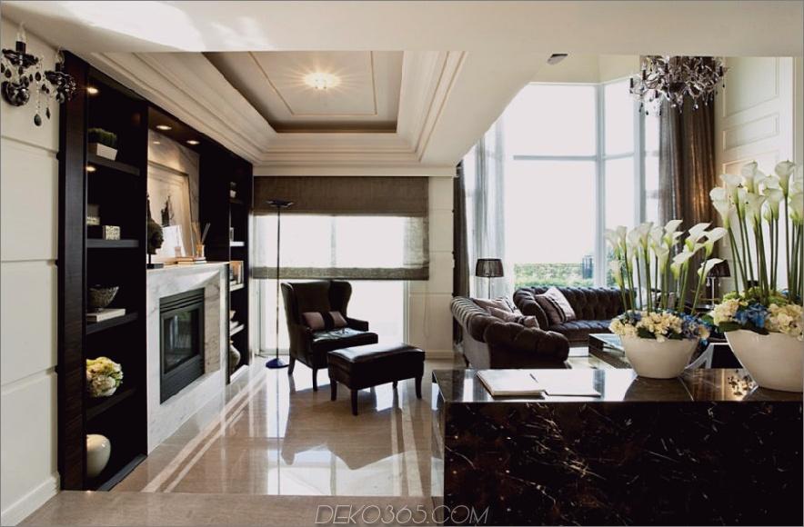 Raymond Chens raffiniertes Wohnzimmerdesign