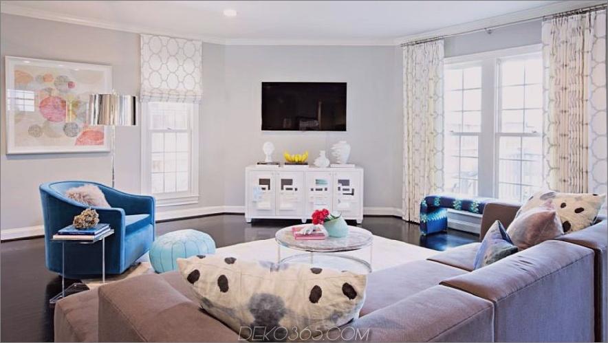 Modernes Wohnzimmer von Sally Wheat