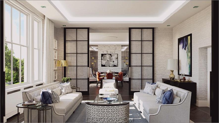 Wohnung in London von Falchi Interiors