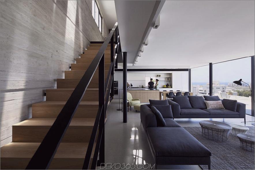 Y Duplex Penthouse von Pitsou Kedem Architects