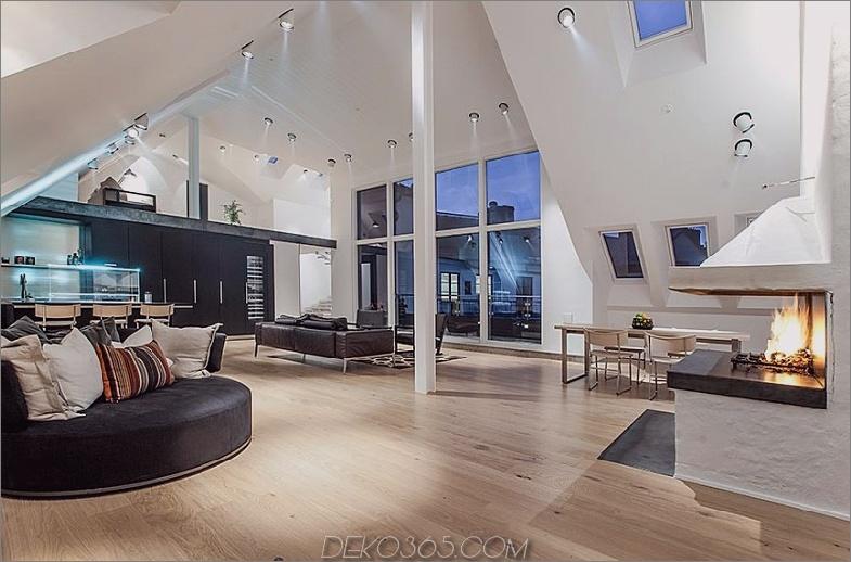 Dachgeschoss Penthouse in Stockholm