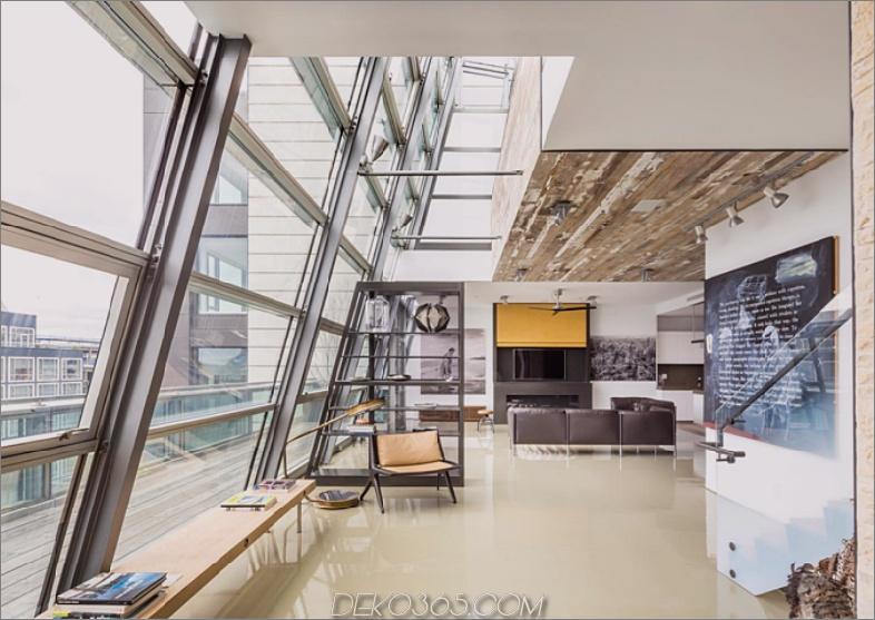 Duplex-Penthouse aus Glas in New York