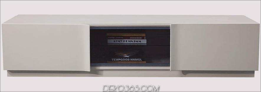 J & M Furniture TV129 Moderne Fernsehstation