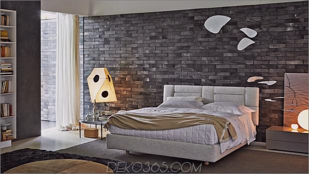 Modernes Schlafzimmer-mit-ausgesetztem grauem Ziegel-molteni-nature.jpg