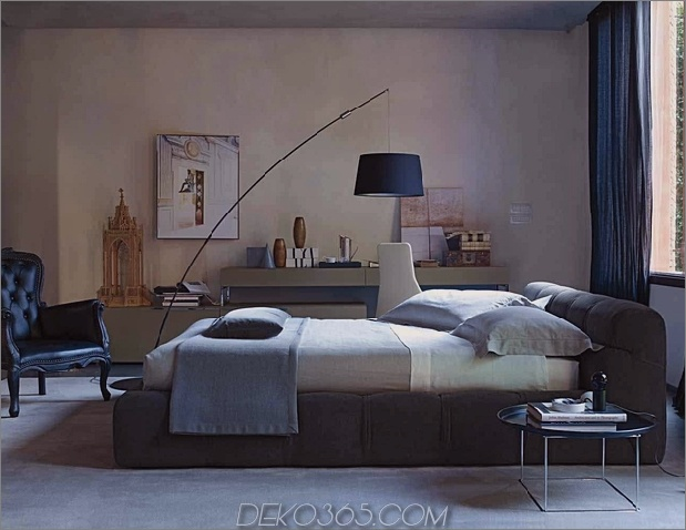 modern-bedroom-with-distressed-wall-tufty-bed-bb-italia.jpg