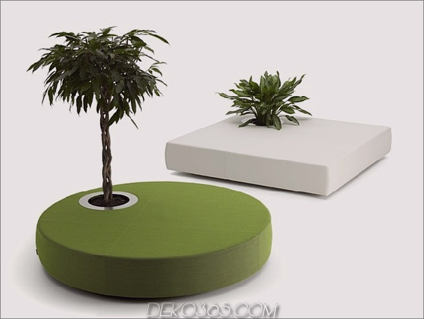 poufs für moderne grüne inseln thumb 630xauto 58535 50 Cutest Poufs für moderne Wohnräume: Indoor und Outdoor