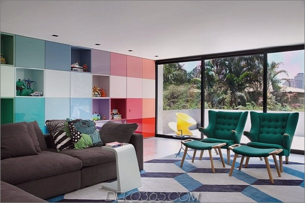 70er-inspirierte Innenausstattung mit Vintage-Mustern und Farbblockierung-11.jpg