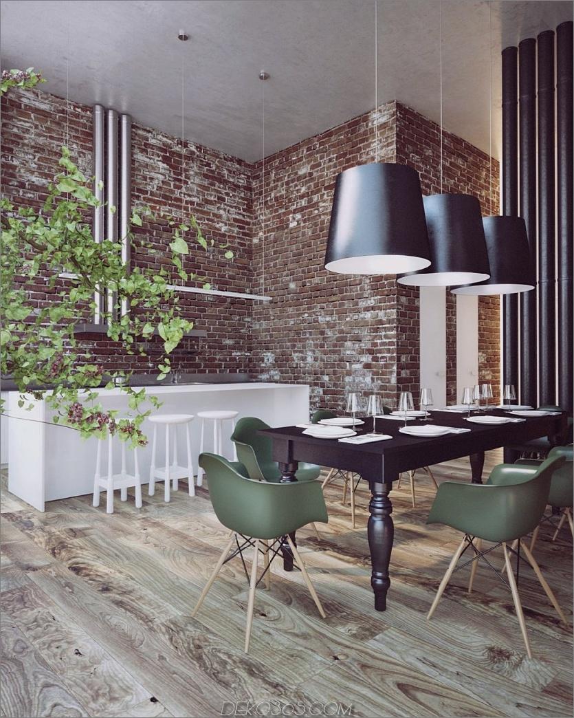 Penthouse Pokrov von Sergey Makhno Architect