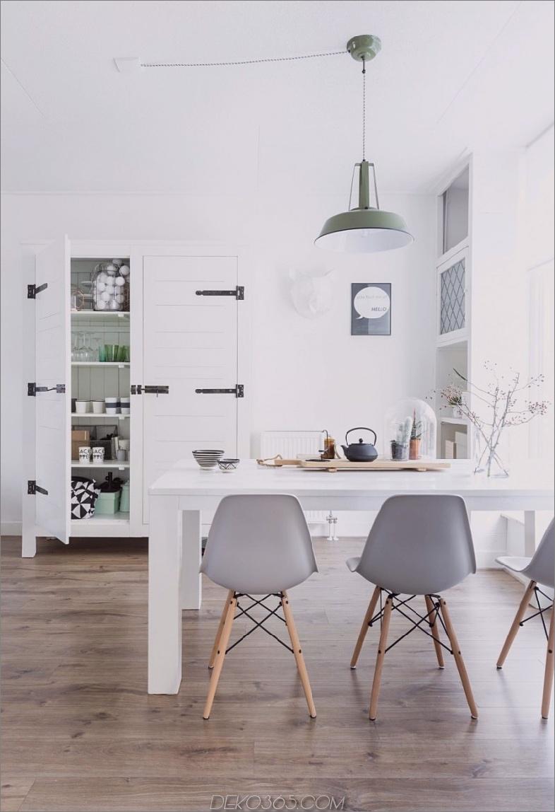 Eames geformte Stühle