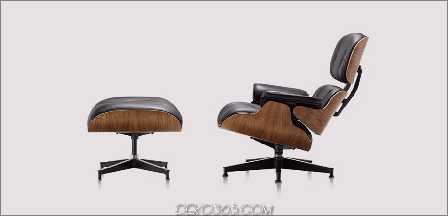 Eames Stuhl und Ottomane