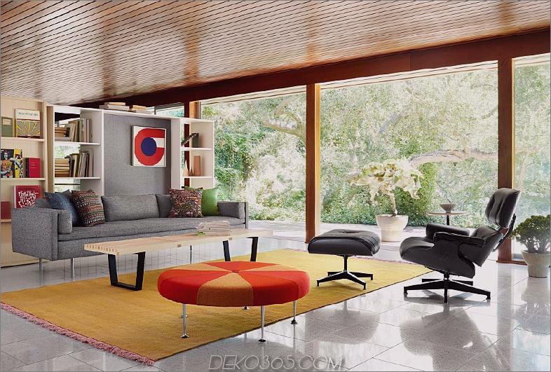 Schwarzer Eames-Stuhl