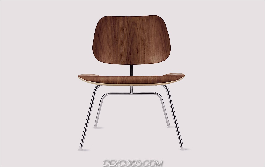 Eames® Formsperrholz Lounge Chair (LCM)