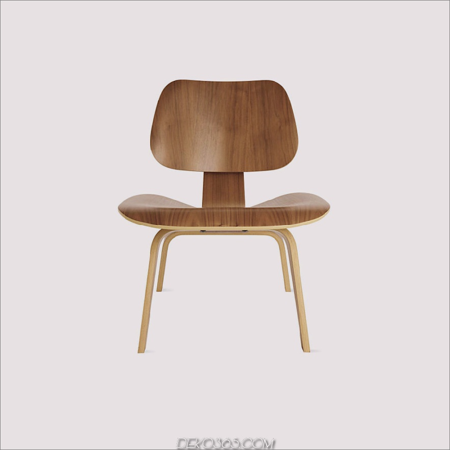 Eames® Formsperrholz Lounge Chair (LCW)