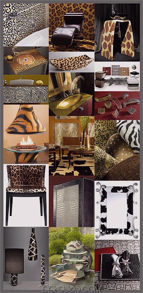animal print decor trends Animal Print Decor neuesten Muster und Trends